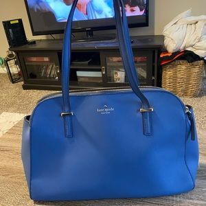 Kate Spade Purse in Periwinkle Blue